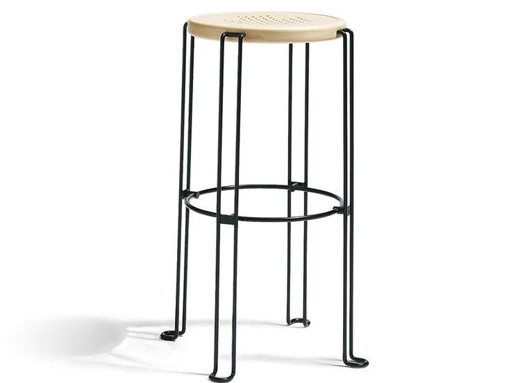 Stackable stool PALL B2 - Blå Station