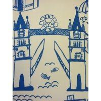 Prestigious Textiles Panorama Cobalt Wallpaper