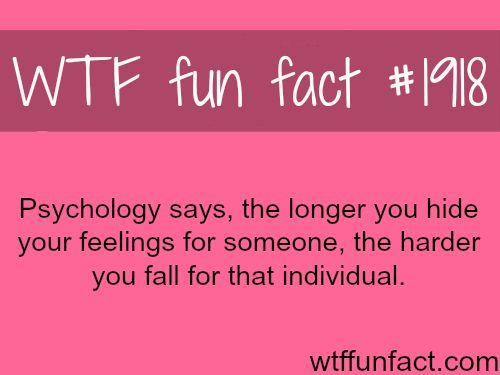 Psychology and love facts - WTF fun facts unequivocally true