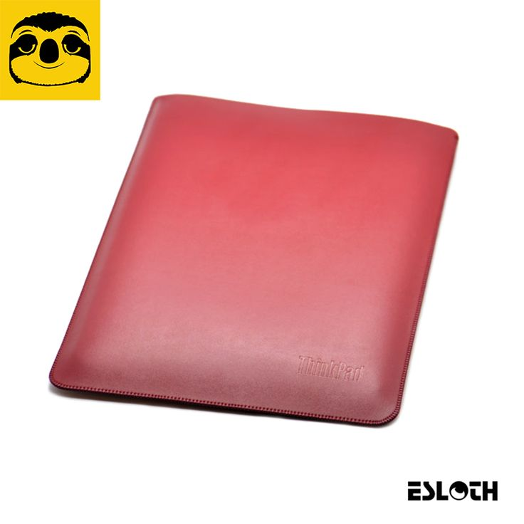 "==> [Free Shipping] Buy Best ESLOTH Plain Weave Red For Lenovo ThinkPad X1 Carbon 14"" PU Leather Cases Into Sets of Bladder Bag Ultra Thin Light Laptop Bags Online with LOWEST Price 