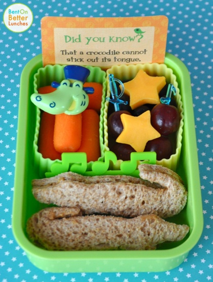 BentOnBetterLunches: Never Smile At A Crocodile