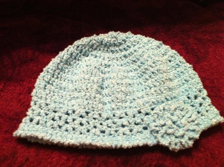 Crochet Work : Crocheted hat--my own design My Crochet Work Pinterest