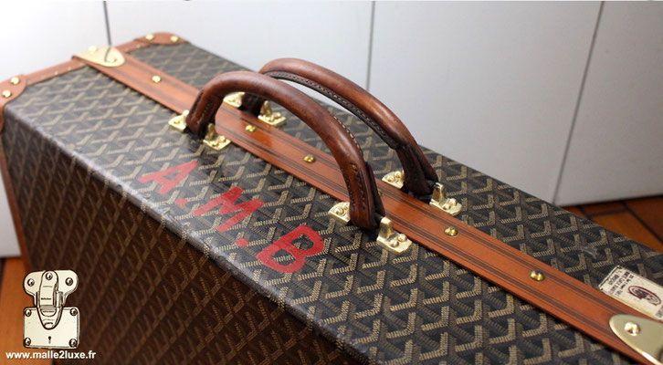 Restauration Et Fabrication Cuir Couture Sellier Malle Louis Vuitton Cuir Louis Vuitton Et Damier Louis Vuitton