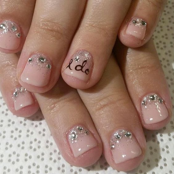 Best 25+ Wedding Nails Art Ideas On Pinterest