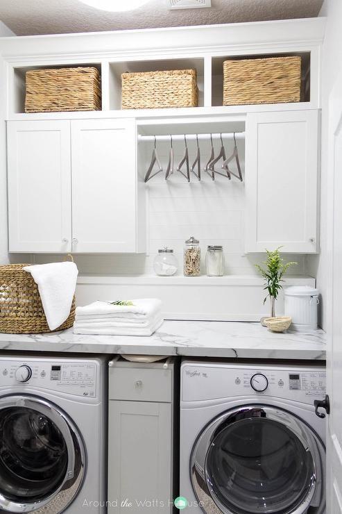 best 25 laundry room countertop ideas on pinterest. Black Bedroom Furniture Sets. Home Design Ideas