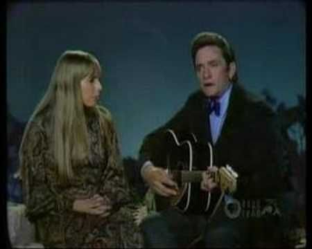 ohnny Cash & Joni Mitchell - The Long Black Veil on the first episode of the Johnny Cash Show June 17, 1969. Other guests were Doug Kershaw and Bob Dylan.