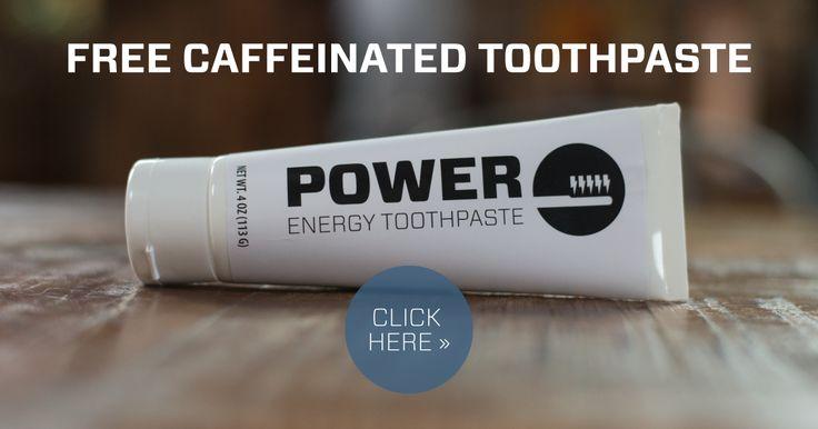 FREE Caffeinated Toothpaste Sa...