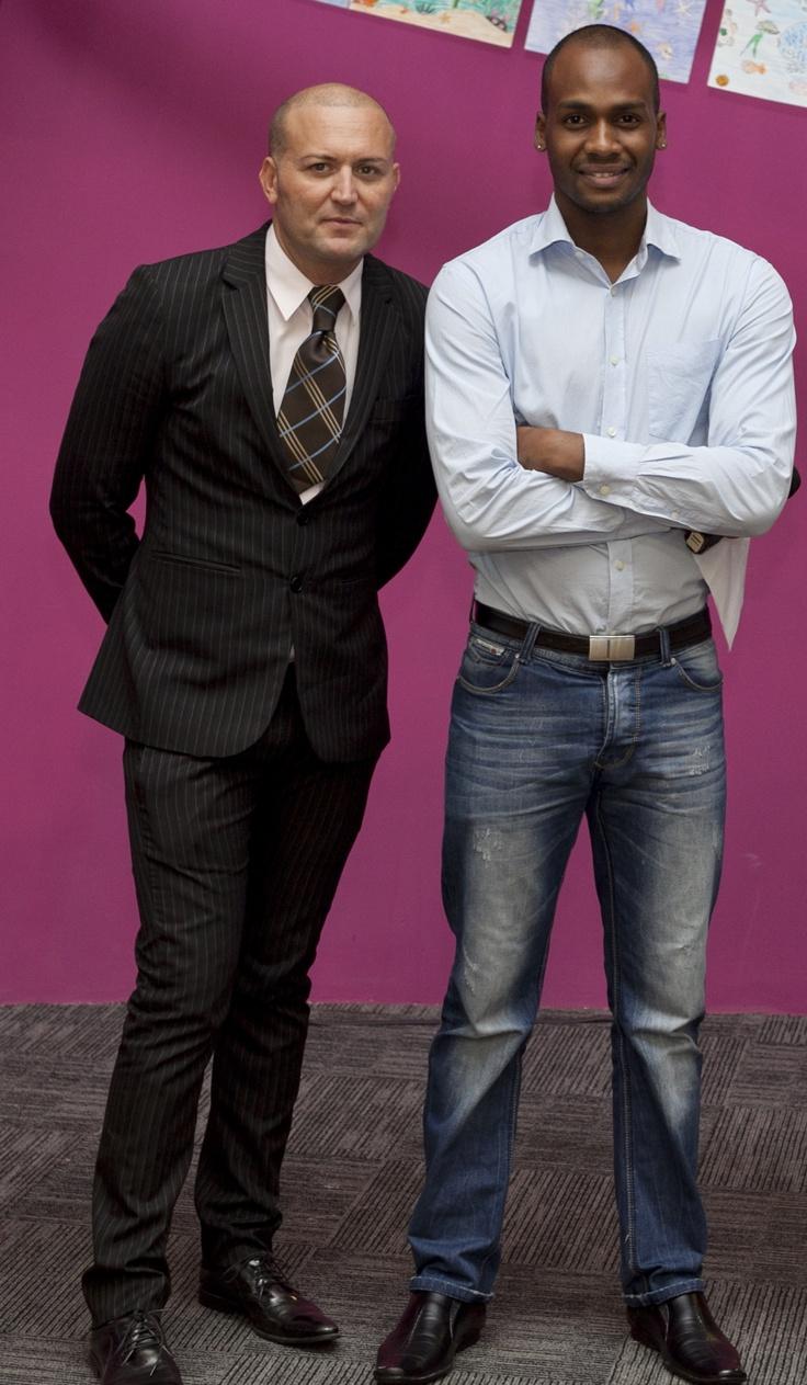 M. K. Souli et M. Ricardo de La Plantation Resorts & Spa