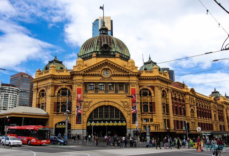 Flinders Street Train Station, Melbourne, Victoria