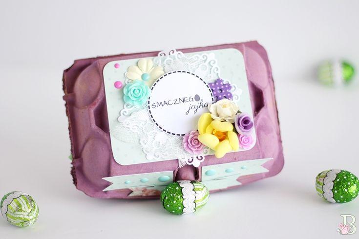 pudełko na jajka, DIY, pudełko, opakowanie, prezent, gift, easter