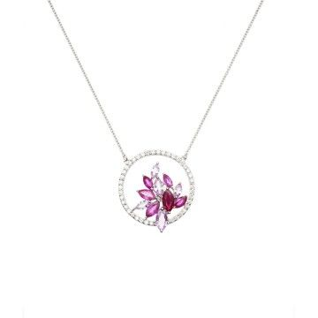 Necklace The Secret Lovers Diamant La Parisienne