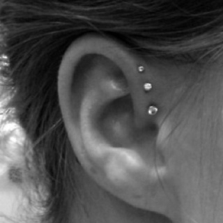 would love this! triple forward helix!