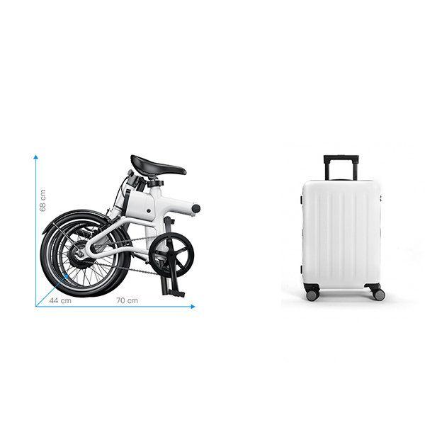 """Yunma potere pieghevole intelligente assistito 14.9kg bicicletta elettrica bicicletta elettrica leggera da 16 """"120w 36v mini bici / 2.6ah batterie agli ioni di litio Vendita - Banggood.com"""