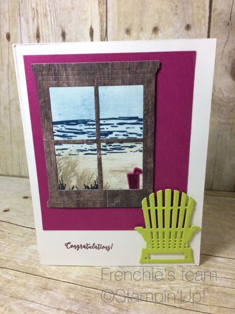 Stampin' Up! High Tide, Colorful Seasons