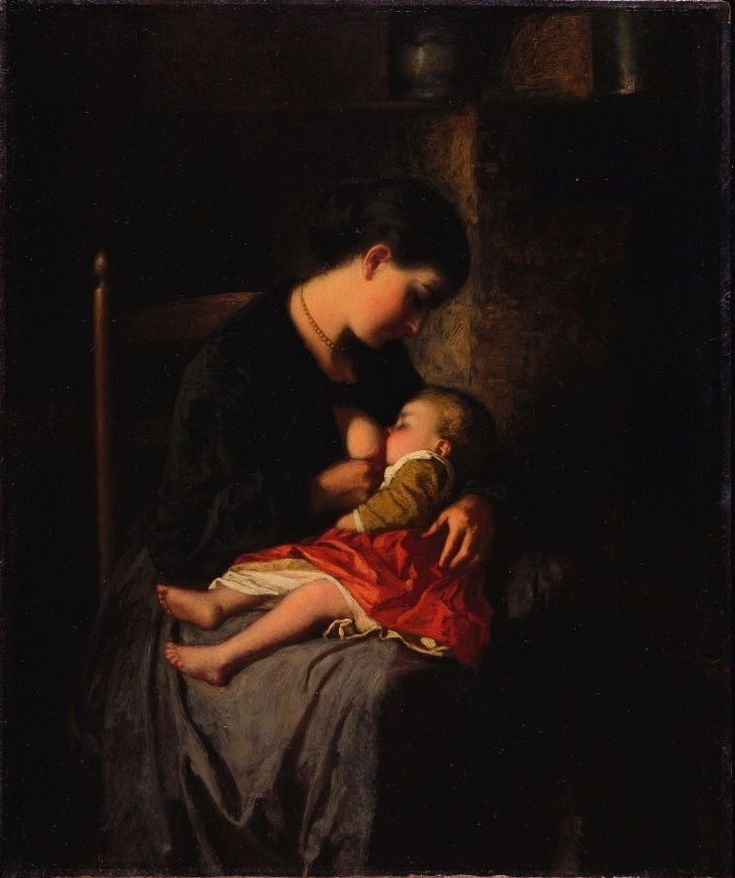 Eastman Johnson - The Mother