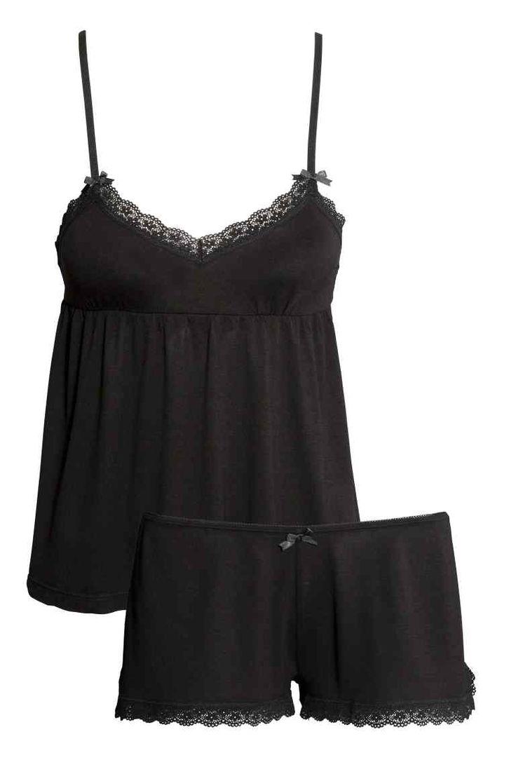 Pijama de punto | H&M                                                                                                                                                      Más