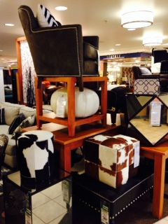 Leather And Cow Hide At Nebraska Furniture Mart.