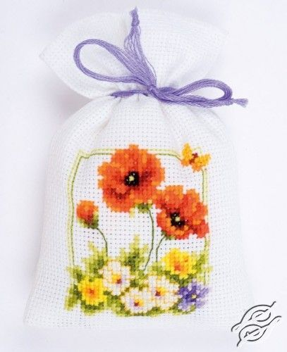 Wild Spring Flowers - Cross Stitch Kits by VERVACO - PN-0145099
