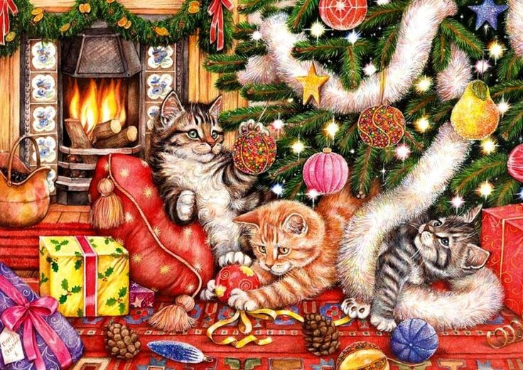 Bad Cats and Baubles - Debbie Cook:
