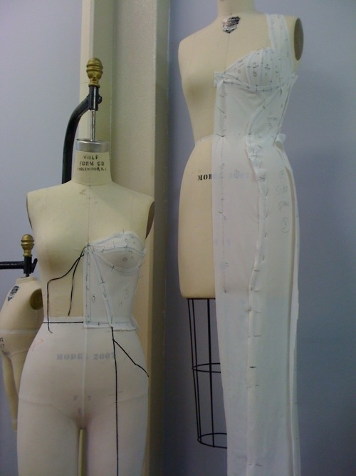draping | pattern making. Look how cool that is!
