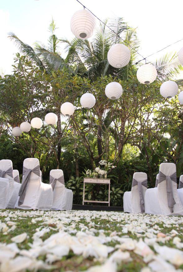 Bali Wedding Ceremony Setup