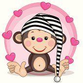 Monos y corazones