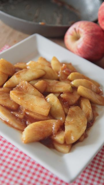Grandma Barb's Best Southern Fried Apples Recipe _ are pure perfection. Tart, sweet & spiced just right & not to mention easy as pie!! They are a True Southern comfort food & just thinking about them makes me smile. I hope they will make you smile too : )