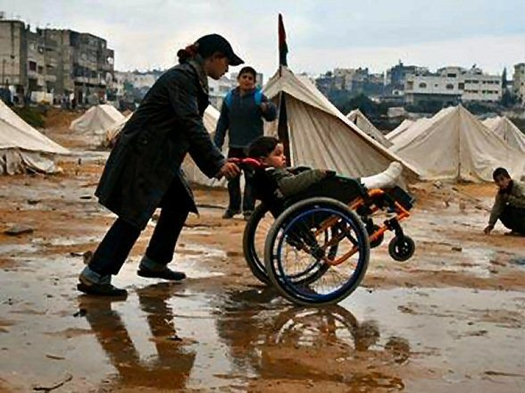 Voices of Courage Awards Luncheon May 2 NYC: Theme- Disabled, Displaced, Determined.