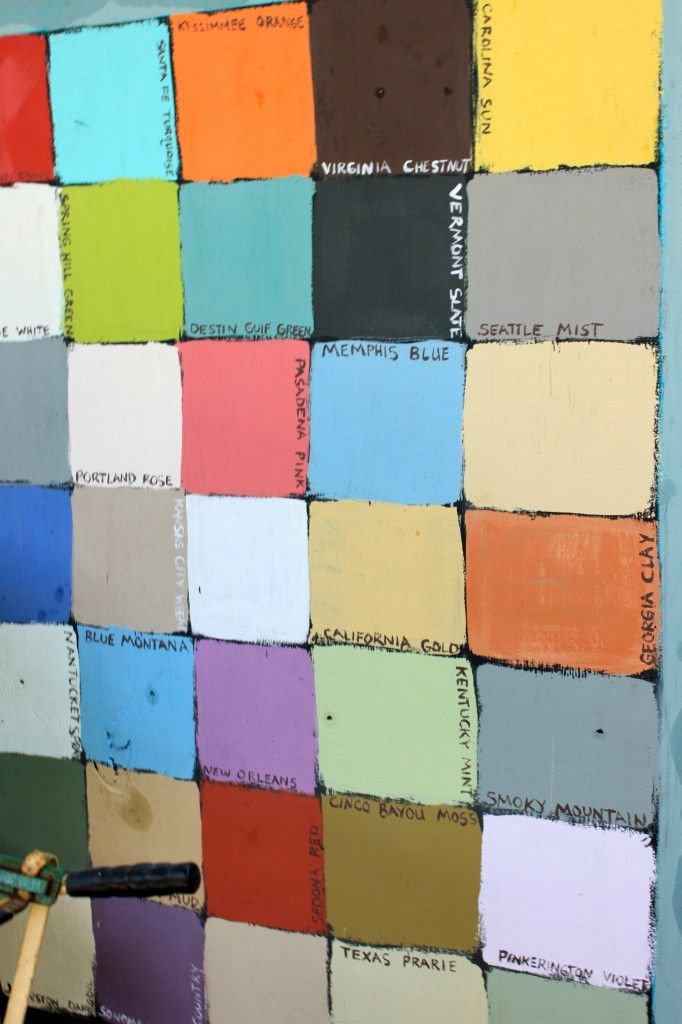 Chalkboard Paint In Every Color Painting Pinterest
