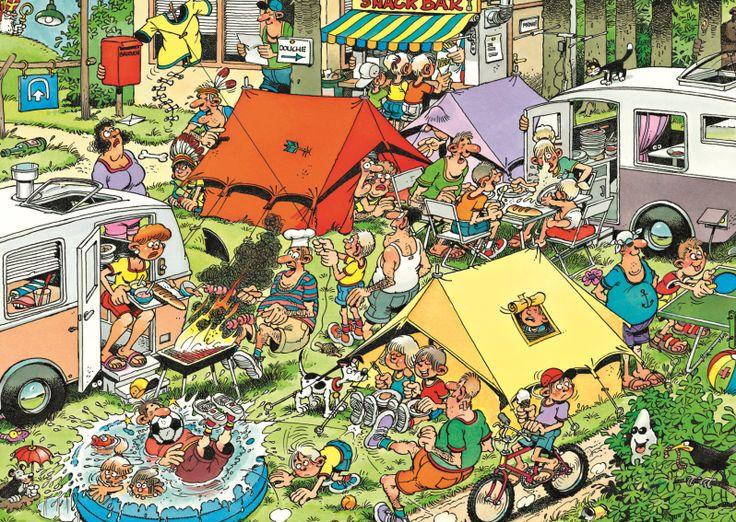 Jan van Haasteren - Op de camping