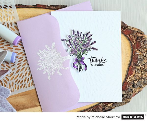 My Monthly Hero: Creativity in a Box July 2017 kit idea #1 by Michelle Short. Kit and add-ons available for purchase Monday, July 3. #mymonthlyhero