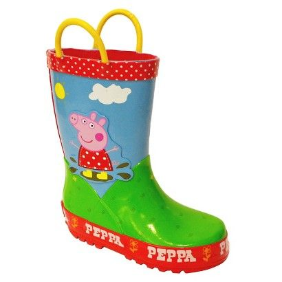 Toddler Girls Peppa Pig Rain Boots Pink Baby And Kid