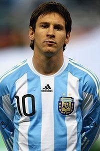 Lionel Messi soccer jerseys at soccercorner.com
