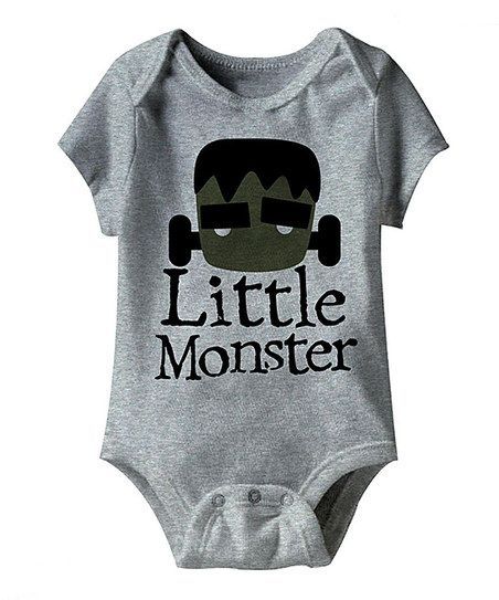 Heather Gray 'Little Monster' Bodysuit Gets the Gothlings.co.uk seal of approval
