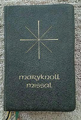 Catholic Missal MaryKnoll Daily Missal 1966 Vatican Edition Vintage Religious
