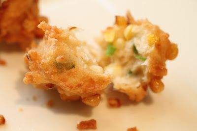 Oven Lovers: Crunchy Coconut Corn Fritters
