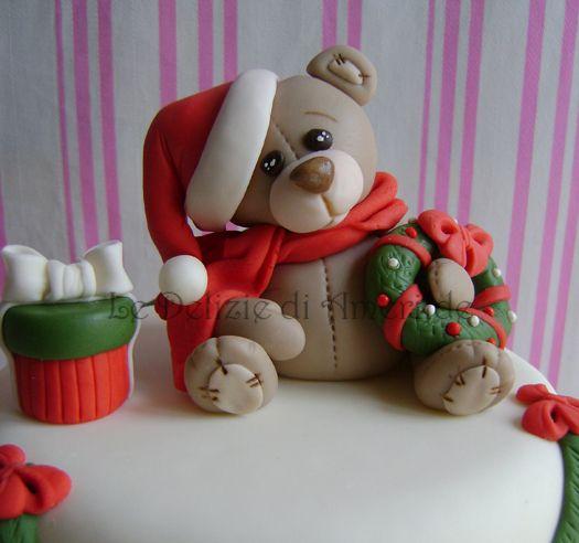 Le Delizie di Amerilde. Xmas Cake. Xmas Cake topper. www.ledeliziediamerilde.it
