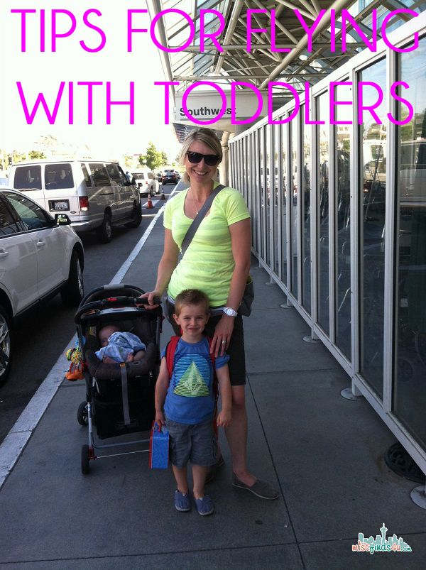 Tips for Flying With a Toddler | Seattle Lifestyle Blog