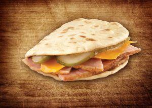Ham & Cheddar Foldit® Flatbread Sandwich