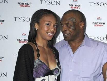 Mike Tyson's kid - step daughter Gena Turner