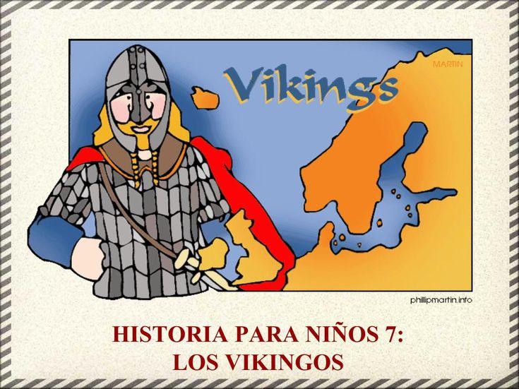 Historia para niños 7- Los Vikingos