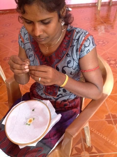 We are SO excited!!!Selynhas been chosen to weave and hand-make the altar cloth for the visit of His Holiness the Pope to Sri Lanka!Our woman artisans from all over the country creating our#handsonhandscollection are busy working onthis now! Andrea Boekel has lovingly designed it. Isn't is amazing that women, mostly war widows, from both sides of the war are working together with love on this project?!!We are honored that our artisans will now have this ...