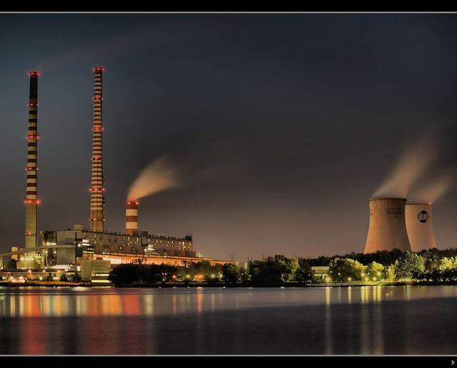 Elektrownia #Rybnik HDR by sly.space, via Flickr #silesia #śląsk