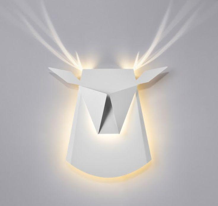 Modern Light Fixtures Turn Into Animals When Illuminated - My Modern Met