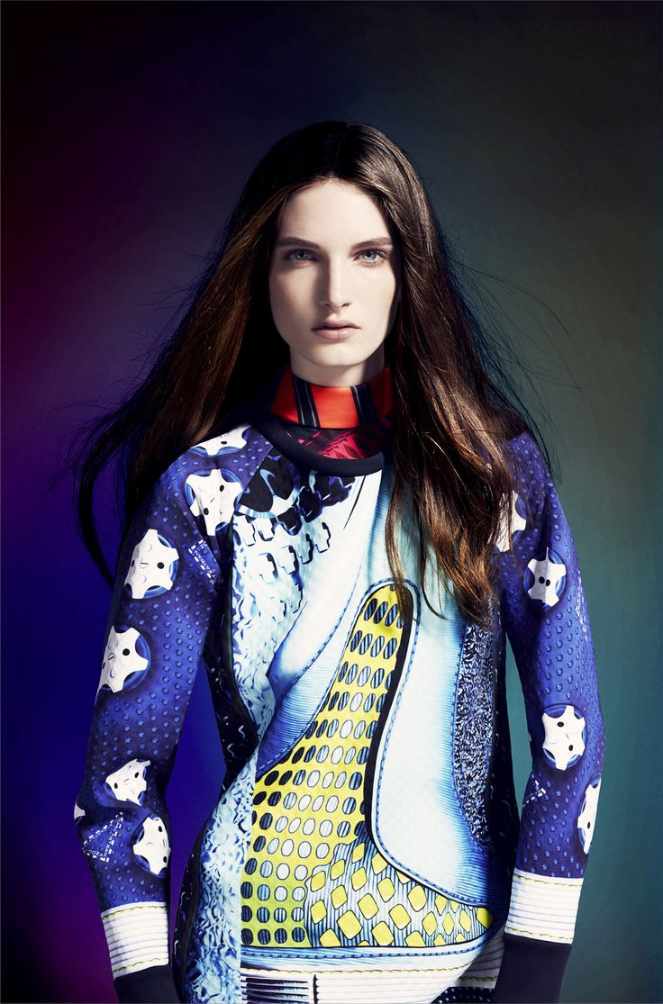 adidas Originals by Mary Katrantzou. Available in November, 2014 on  www.modesportif.