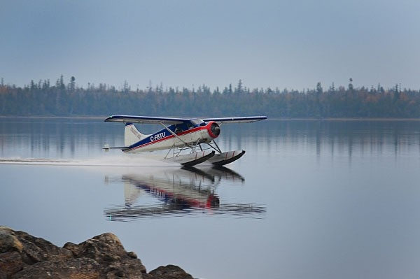 Fly-in Canada fishing trip