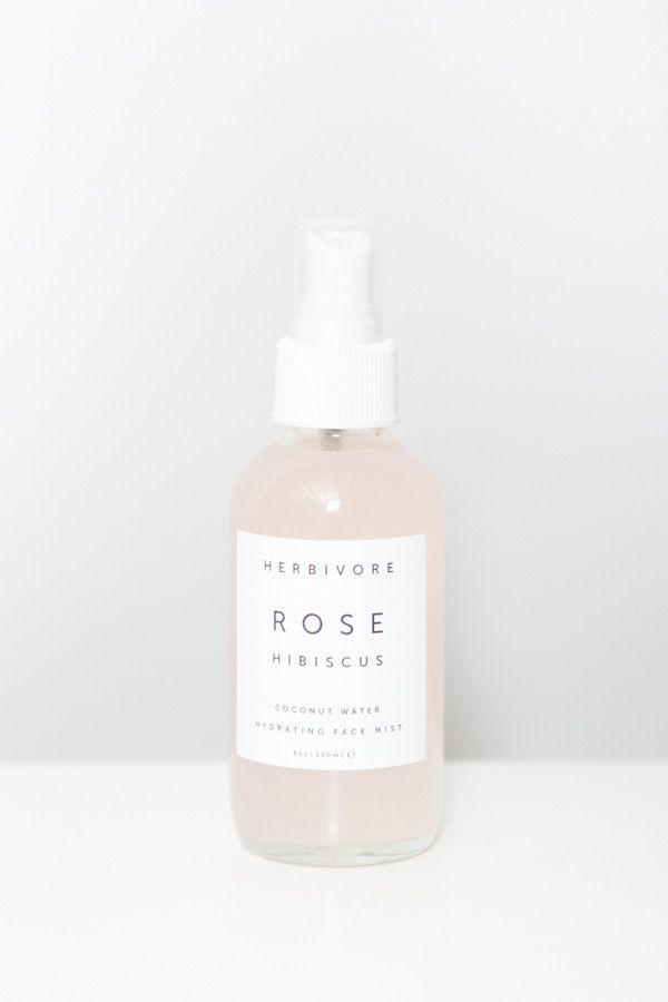 We never travel without a hydrating face mist, and the aromatherapy is a definite bonus | Herbivore Botanicals Rose Hibiscus Hydrating Face Mist – Parc
