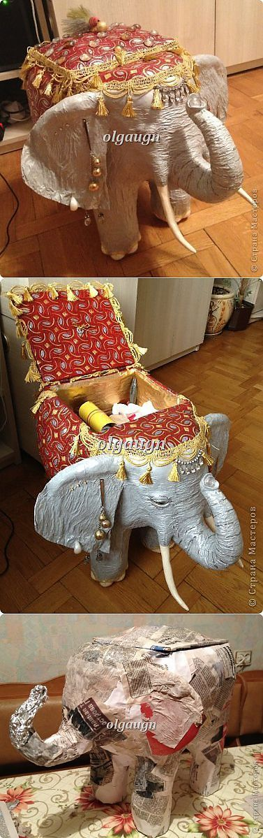 Слон-сундучок | Страна Мастеров