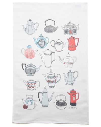 While You Were Steeping Tea Towel: Fun Recipes, Teas Towels, Steep Teas, Teas Pots, Teapots Towels, Home Decor, Sugar Sweet, Teas Art, Teas Stuff