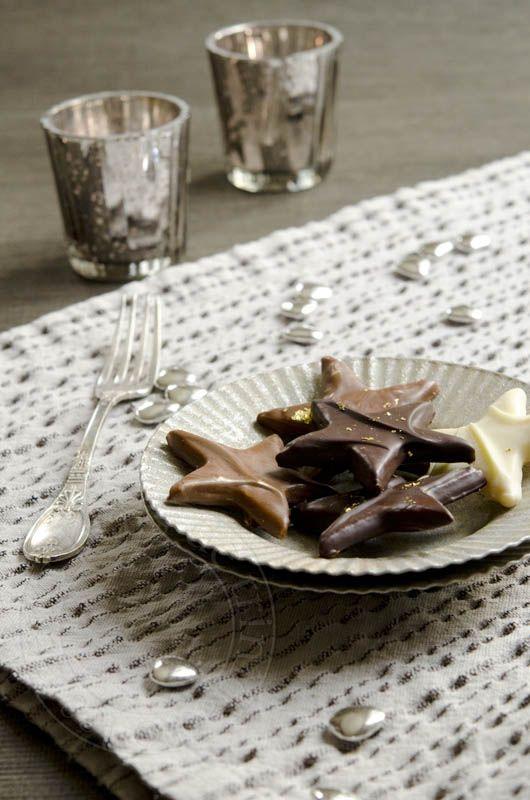 les petits plats de trinidad: Etoiles de noël sablées au chocolat